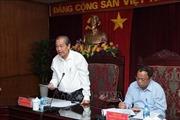 Phó Thủ tướng Trương Hòa Bình gặp mặt lãnh đạo tỉnh Bắc Kạn