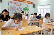 Thực hiện nghiêm ngặt quy trình chấm thi THPT quốc gia