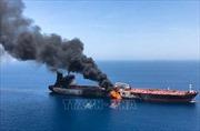 Thủy thủ tàu Nhật Bản nhìn thấy 'vật thể bay' trước vụ tấn công trên Vịnh Oman