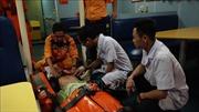 Cứu kịp thời thuyền viên bị tai biến trên vùng biển Hoàng Sa