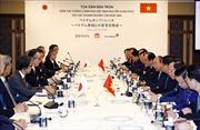Thủ tướng Nguyễn Xuân Phúc tọa đàm với lãnh đạo nhiều tập đoàn hàng đầu Nhật Bản