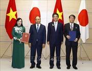 Lễ trao đổi các văn kiện hợp tác Việt Nam - Nhật Bản