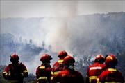 Phát hiện nhiều thiết bị nổ gần khu vực cháy rừng lớn