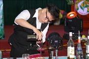 Độc đáo thi pha chế trà tại Hoàng Su Phì