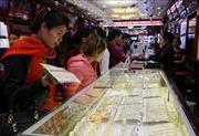 Giá vàng trong nước giảm 40.000 đồng/lượng