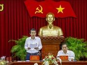 Ban Nội chính Trung ương kiểm tra công tác phòng, chống tham nhũng tại Cần Thơ