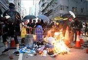 Biểu tình bạo lực tiếp diễn tại Hong Kong