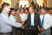 Phó Thủ tướng Trương Hòa Bình tiếp Đoàn người có công với cách mạng tỉnh Kiên Giang