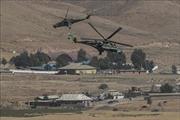 Nga điều trực thăng bảo vệ lực lượng quân cảnh ở miền Bắc Syria