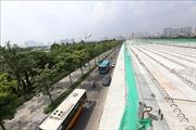 Chạy 'nước rút'giải ngân vốn dự án giao thông