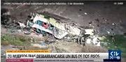 Xe khách rơi xuống vực sâu, ít nhất 41 người bị thương vong
