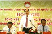 Hội nghị tổng kết hoạt động Cụm thi đua 5 thành phố trực thuộc Trung ương
