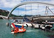 Sập cầu tại Đài Loan, ít nhất 14 người bị thương