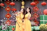 'Cánh thiệp đầu Xuân' của chị em Sao mai Thu Hà- Linh Hoa