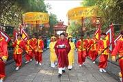Lễ dâng cúng bánh tét Quốc tổ Hùng Vương
