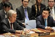 Phó Thủ tướng Phạm Bình Minh gặp lãnh đạo các nước dự phiên thảo luận mở của HĐBA LHQ