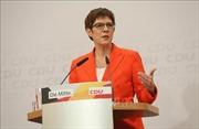 Đức: Chủ tịch CDU tiếp tục tại nhiệm đến khi có ứng cử viên thủ tướng mới