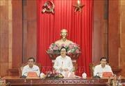 Bộ trưởng Bộ Giáo dục và Đào tạo Phùng Xuân Nhạ làm việc tại Tiền Giang