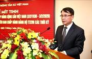 TTXVN tổ chức Lễ mít tinh kỷ niệm 90 năm Ngày thành lập Đảng Cộng sản Việt Nam