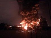 Hỏa hoạn tại khu vực chứa rác thải ở Biên Hòa thiêu rụi 2 nhà dân
