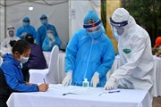 Hậu Giang tặng Hà Nội thiết bị sát khuẩn thông minh chống dịch COVID-19