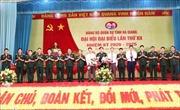Đại hội đại biểu Đảng bộ Quân sự tỉnh Hà Giang nhiệm kỳ 2020 - 2025