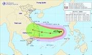 Bão số 6 giật cấp 15 gây mưa bão ở khu vực giữa Biển Đông