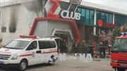 Cháy lớn tại vũ trường Z Club ở Nha Trang