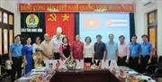 Đoàn đại biểu cấp cao 'Trung tâm những người lao động Cuba'thăm, làm việc tại Ninh Bình