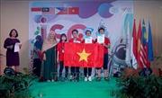 Đoàn học sinh Việt Nam giành 4 HCV tại kỳ thi Khoa học Quốc tế ISC năm 2019