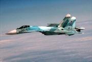 Tiêm kích Su-27 của Nga chặn máy bay trinh sát Mỹ trên Biển Baltic
