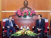 Quan hệ hợp tác giữa hai tổ chức Mặt trận Việt Nam - Lào ngày càng thực chất, hiệu quả