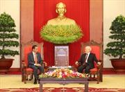 Tổng Bí thư Nguyễn Phú Trọng tiếp Tổng thống Indonesia Joko Widodo