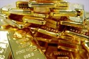 Giá vàng châu Á rơi xuống mức thấp nhất 6 tuần qua