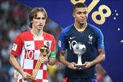 Luka Modric giành danh hiệu cầu thủ xuất sắc nhất năm của FIFA