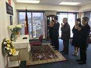 Đại sứ quán Việt Nam tại Ấn Độ, New Zealand và Israel tổ chức lễ viếng Chủ tịch nước Trần Đại Quang