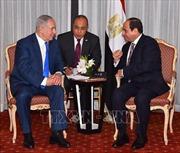 Đại hội đồng LHQ khóa 73: Lãnh đạo Israel và Ai Cập thảo luận về tình hình Gaza