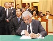 Các đoàn ngoại giao ghi sổ tang nguyên Tổng Bí thư Đỗ Mười