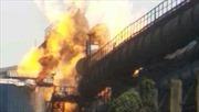 Đường ống dẫn khí gas tại nhà máy thép phát nổ, ít nhất 20 người thương vong