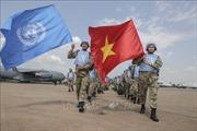 Việt Nam thực hiện sứ mệnh nhân đạo, góp phần kiến tạo hòa bình bền vững