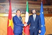 Quan hệ Đối tác chiến lược Việt Nam – Italy phát triển tốt đẹp trên tất cả các lĩnh vực