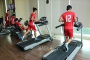 U19 Việt Nam tập luyện nhẹ trước trận đấu với U19 Hàn Quốc
