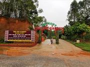 Yêu cầu đóng cửa, tháo dỡ khu sinh thái vi phạm quy hoạch Đền Hùng