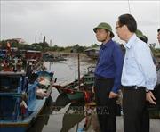 Kiểm tra, chỉ đạo công tác ứng phó với bão số 9 tại Thành phố Hồ Chí Minh