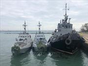 EU yêu cầu Nga trả tự do cho tàu và thủy thủ đoàn Ukraine