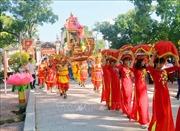 Lễ hội phát lương Đức Thánh Trần đền Trần Thương năm 2019