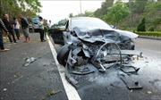 Ô tô đối đầu trên cao tốc đi Đà Lạt khiến 1 người chết, 3 người bị thương