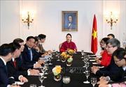 Chủ tịch Quốc hội Nguyễn Thị Kim Ngân gặp mặt Ban tổ chức 'Diễn đàn người Việt có tầm ảnh hưởng'