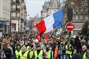 Hàng nghìn người biểu tình 'Áo vàng' tiếp tục xuống đường tại Pháp