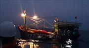 Lai dắt, cứu nạn thành công tàu cá cùng 18 ngư dân